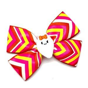 Cute Ghost Hair Bow - Halloween